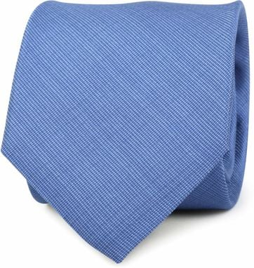 Stropdas Zijde Blauw K81-9