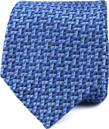 Stropdas Zijde Blauw K82-7