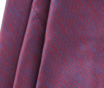 Detail Stropdas Zijde Bordeaux 9-17