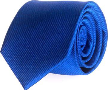 Stropdas Zijde Kobalt Blauw Uni F65