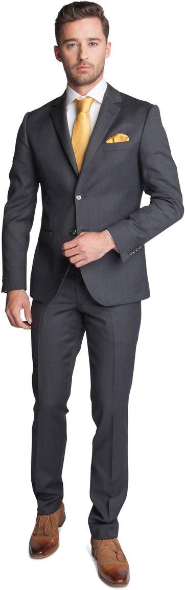 Suitable Anzug Fabro Dunkelgrau