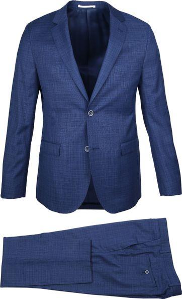Suitable Anzug Lucius Optical Blau