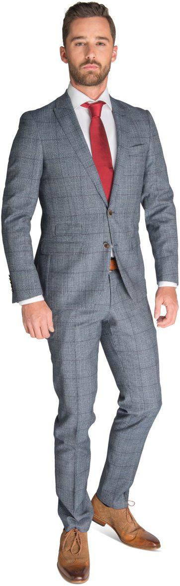Suitable Anzug Mailand grau