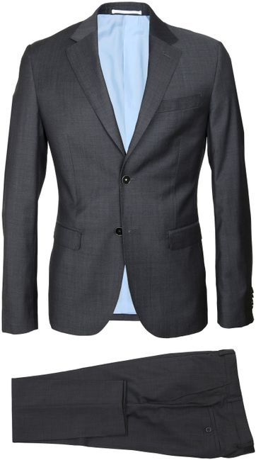 Suitable Anzug Strato Dunkelgrau