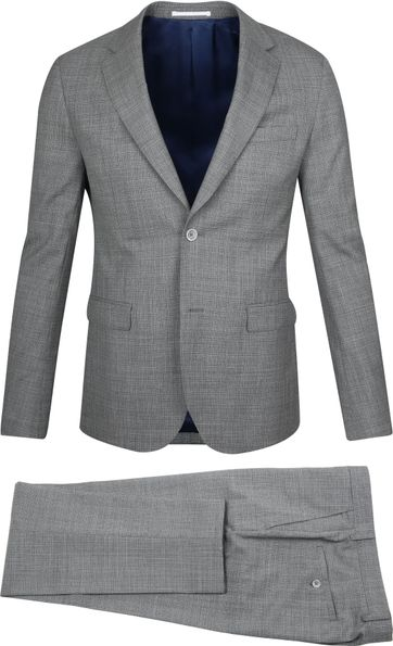 Suitable Anzug Strato Grau