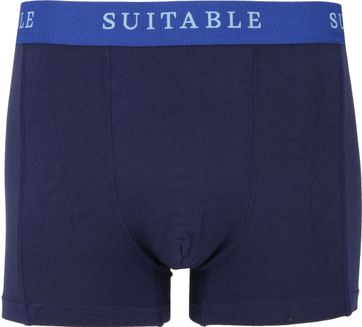 Suitable Bamboe Boxershorts 4-Pack Navy