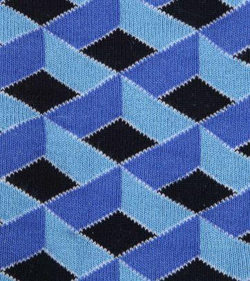 Suitable Bamboe Sokken 3D Blauw