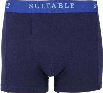 Suitable Bamboo Boxershorts 2er-Pack Dunkelblau