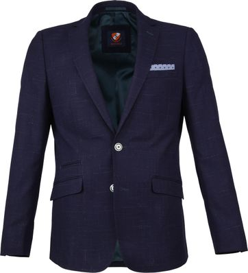 Suitable Bangor Blazer Navy Shadow
