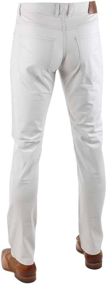 Suitable Barrie Broek Off White
