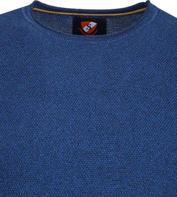 Suitable Baumwolle Pullover Hong Rundhals Blau
