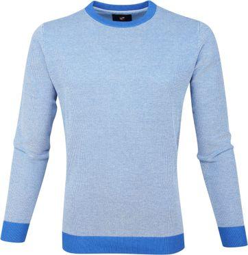 Suitable Baumwolle Pullover Thomas Blau