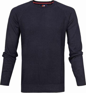 Suitable Baumwolle Sweater Ben Dunkelblau