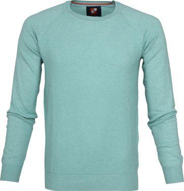 Suitable Baumwolle Sweater Ben Sea Green