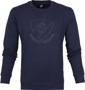 Suitable Baumwolle Sweater Logo