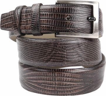 Suitable Belt Leather Brown