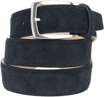 Suitable Belt Suede Dark Blue 309