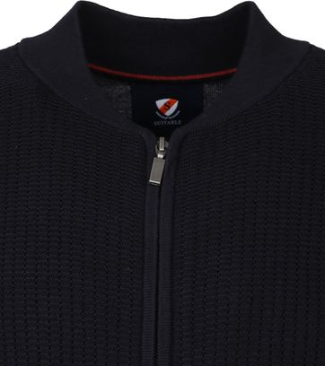 Suitable Bill Cardigan Navy
