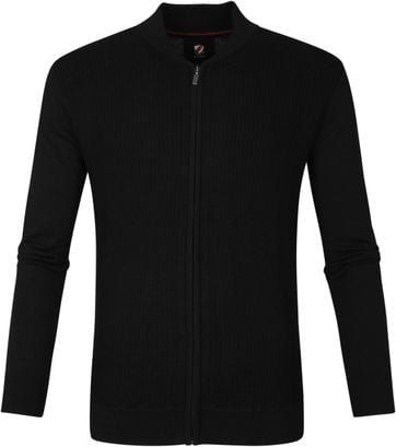 Suitable Bill Strickjacke Schwarz