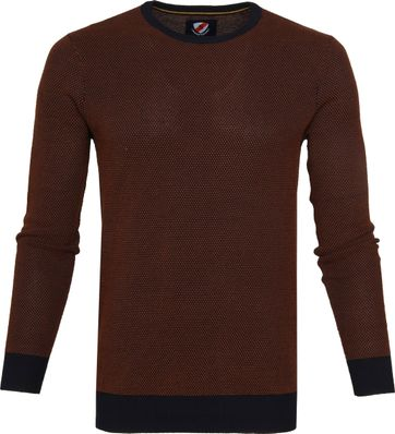 Suitable Bince Pullover Oranje