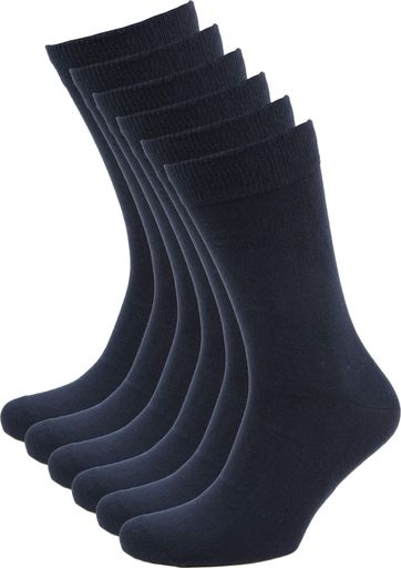 Suitable Bio-Baumwolle Socken Navy 6-Pack