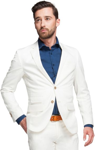 Suitable Blazer Algodao Off White