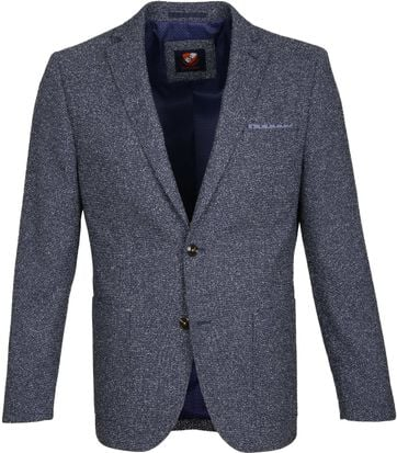 Suitable Blazer Art Blauw