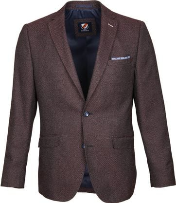 Suitable Blazer Art Bordeaux