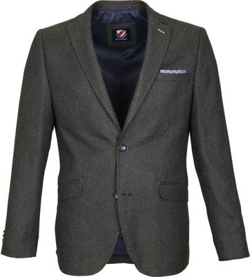 Suitable Blazer Art Groen