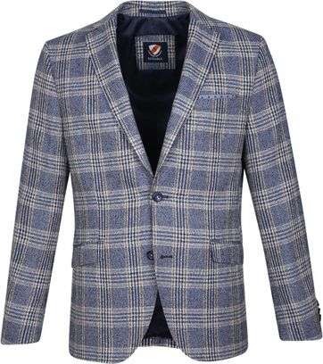 Suitable Blazer Art Karo Blau