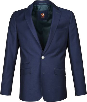 Suitable Blazer Art Pinpoint Dunkelblau