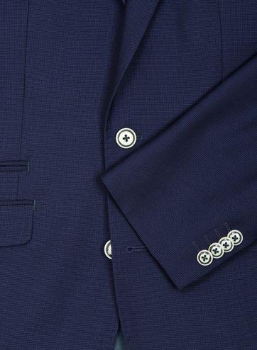Suitable Blazer Art Pinpoint Navy