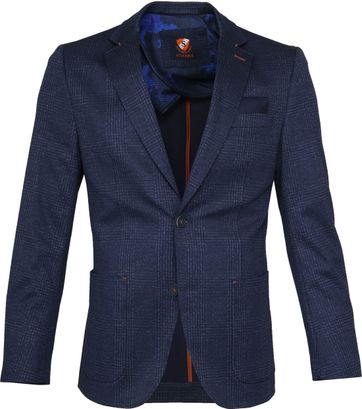 Suitable Blazer Asa Pane Navy