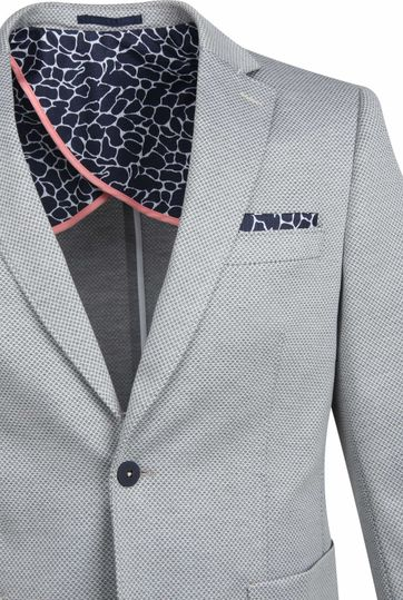 Suitable Blazer Bithlo Dessin Grey
