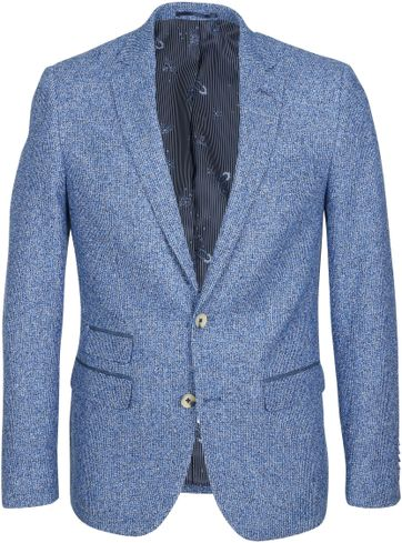 Suitable Blazer Boucle Blue