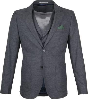 Suitable Blazer Flanell Grau