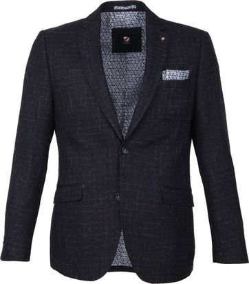 Suitable Blazer Grou Ranoke Melange Navy