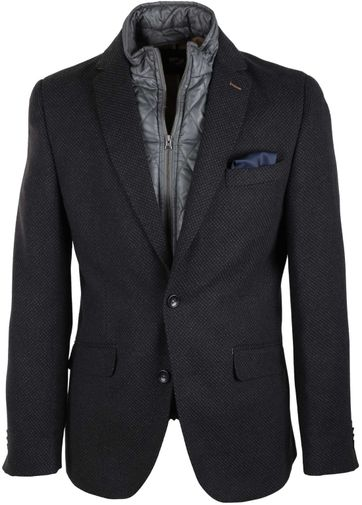 Suitable Blazer Jacket Nupur Grijs