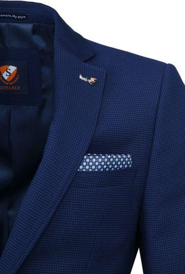 Suitable Blazer Kastri Blauw