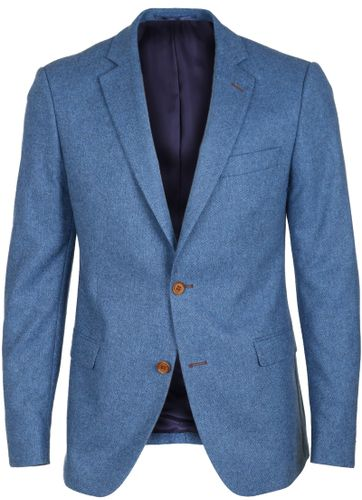 Suitable Blazer Lech Blauw