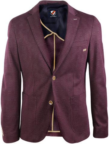 Suitable Blazer Lisbon Bordeaux