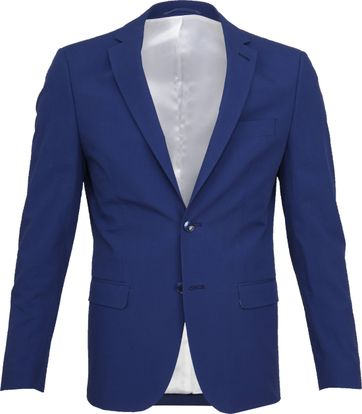 Suitable Blazer Logga Blauw