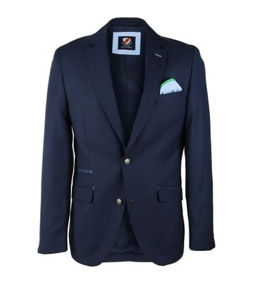 Suitable Blazer Luso Donkerblauw