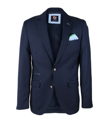 Detail Suitable Blazer Luso Donkerblauw
