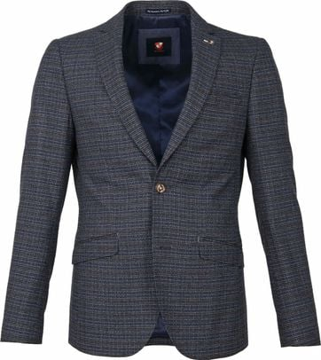 Suitable Blazer Magpie Melange Blau