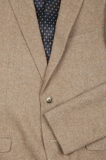 Suitable Blazer Nibe Beige Herringbone