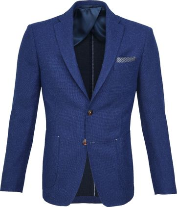 Suitable Blazer Pylos Blauw