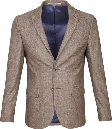 Suitable Blazer Tollegno Camel