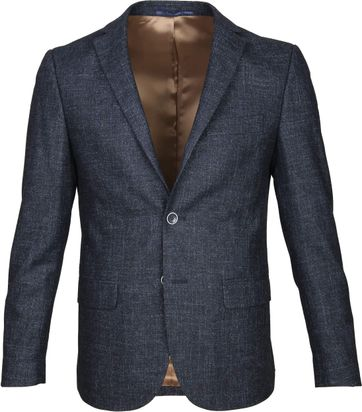 Suitable Blazer Tollegno Navy