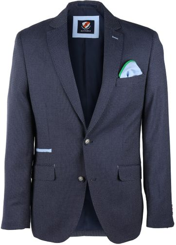 Suitable Blazer Vagos Donkerblauw